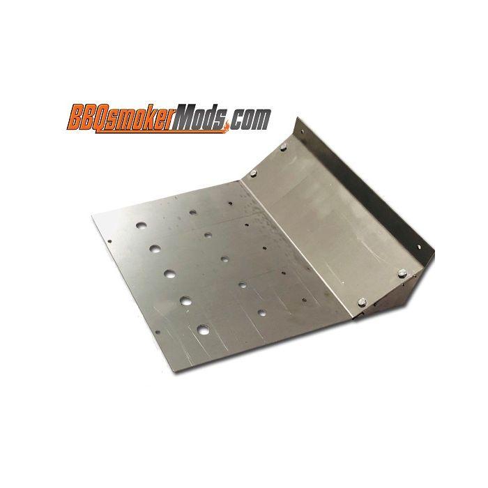 LavaLock® 17.5 x 14.5 Baffle Plate Horizontal BBQ Smoker (Tuning System)