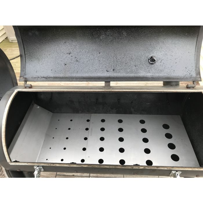 LavaLock® Deflector Plate Tuning System for Brinkmann Pitmaster Deluxe 805-2101-S