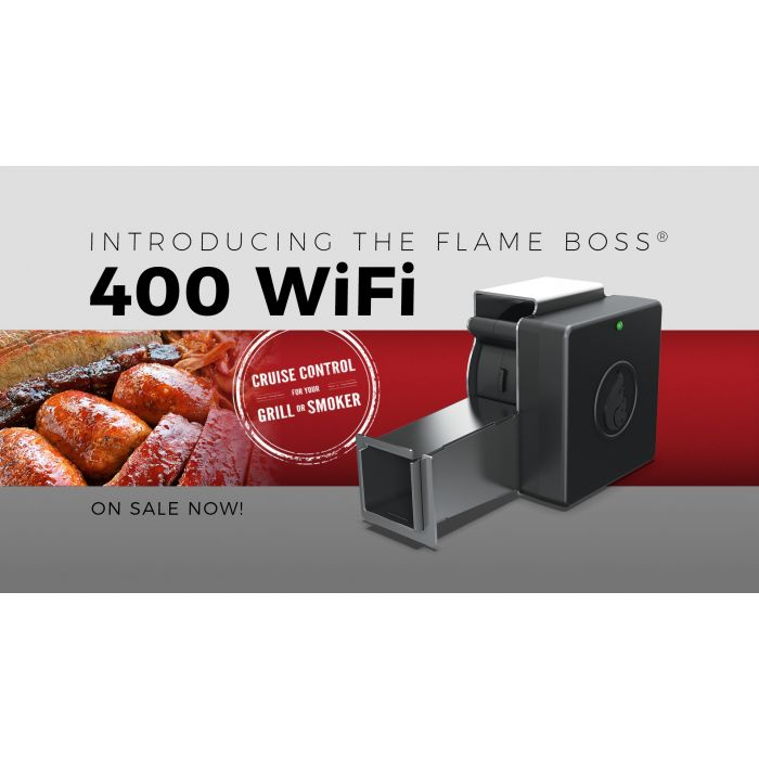 Flame Boss 400 K WiFi Big Green Egg Kamado Controller Complete Stoker Kit