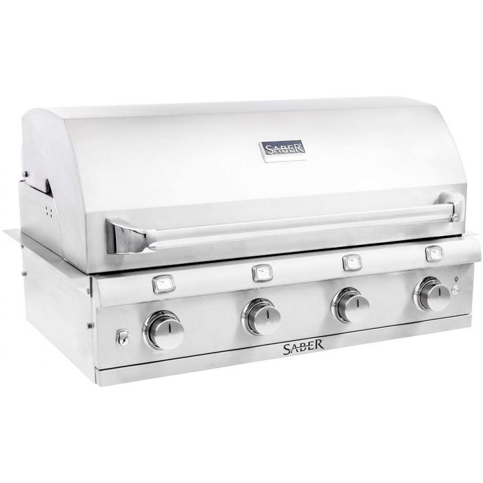 SABER 4-Burner Built-in Infrared Grill, 40-Inches, Propane R67SB0317