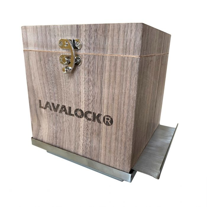 Cocktail Smoker Kit,  Wood Whiskey Smoking Box with Stainless tray, grate and Wood Chip Pan
