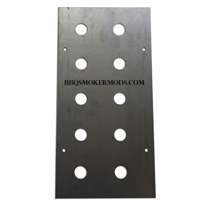 LavaLock® 8 x 16 Baffle Plate Horizontal BBQ Smoker (Tuning System)
