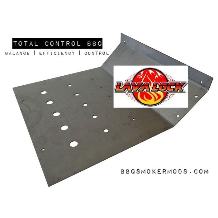 LavaLock® 17 x 16 Baffle Plate Horizontal BBQ Smoker (Tuning System)