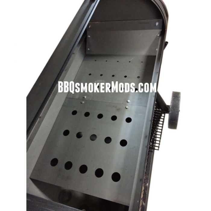 LavaLock® 36 x 17.5 Baffle Plate Horizontal BBQ Smoker (Tuning System)