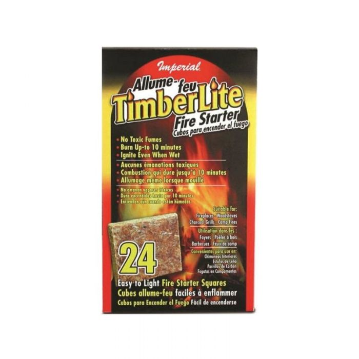 Fire starter squares - 24 count