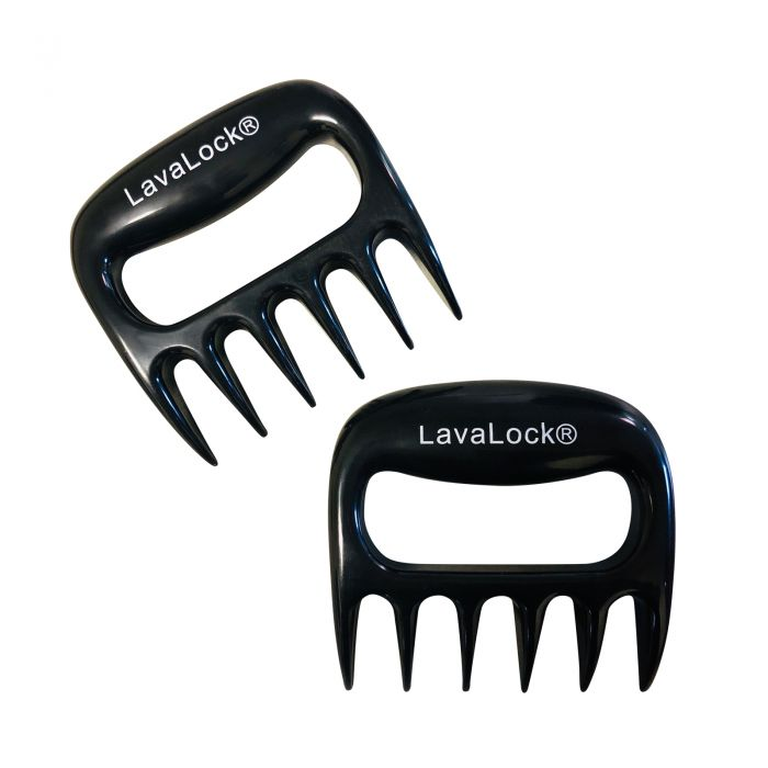 LavaLock® Barbecue Meat Claws Pork Shredders for Grilling, BBQ, Charcoal Smokers