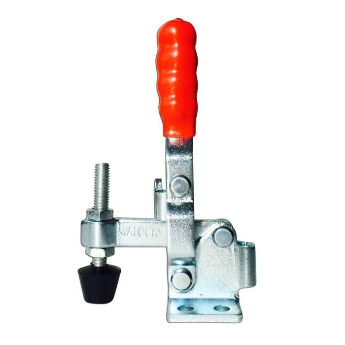 LavaLock® Vertical Flat Mount Push, Smoker door latch toggle clamp - 2 Pk