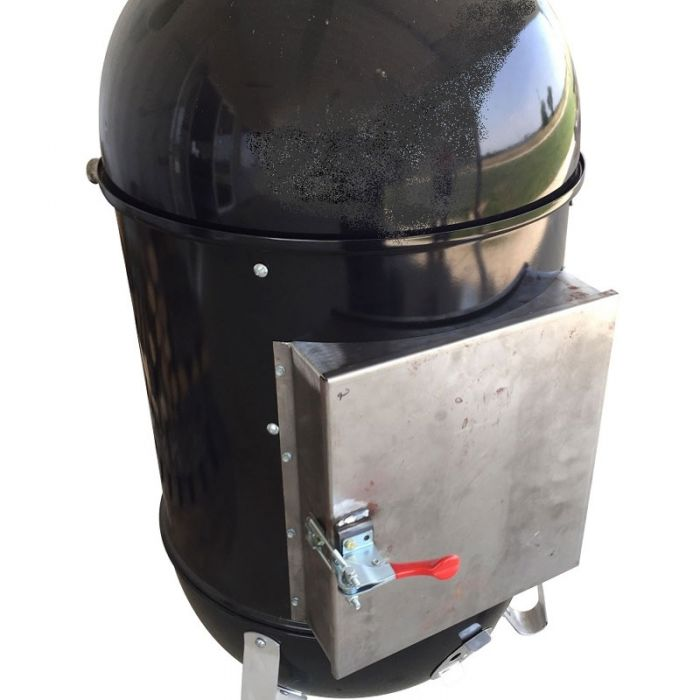 LavaLock® Quick Coal™ WSM Door Mod for 22.5 Weber Smokey Mountain or 55 Gallon UDS smoker