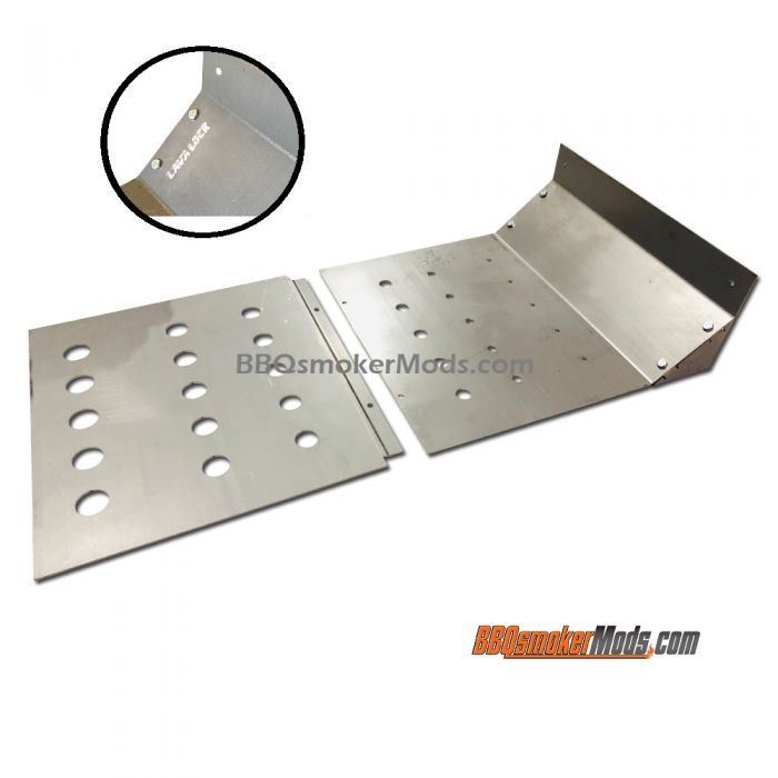 Oklahoma Joe HIGHLAND Horizontal Baffle Plate (Heat Deflector Tuning) by LavaLock®