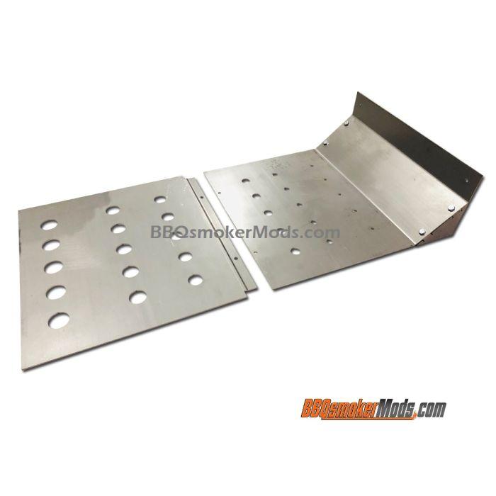 LavaLock® 31 x 16 Baffle Plate Horizontal BBQ Smoker (Tuning System)