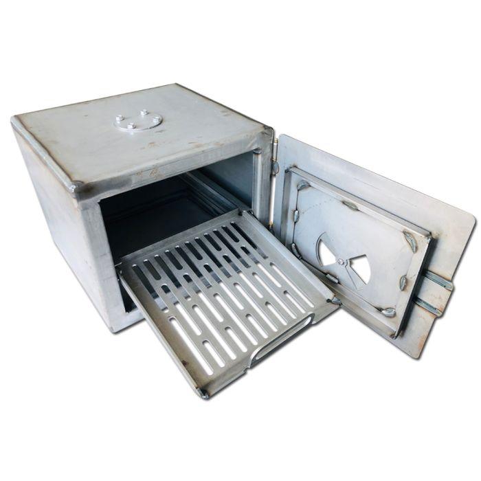 Replacement Firebox for Oklahoma Joe's Highland Smoker by LavaLock® - Heavy Duty