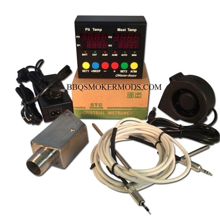 Q Master Senior UDS Controller Kit (complete) Ugly Drum Smoker Controller