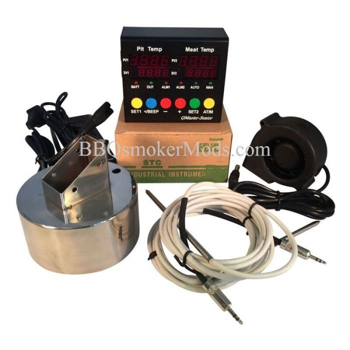 Q Master Senior WSM Controller Kit (complete) Weber Smokey Mountain Controller