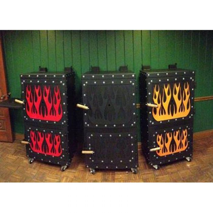 Steel Mountain Grills - BBQ Smokers (Complete Fully Built Grill)
