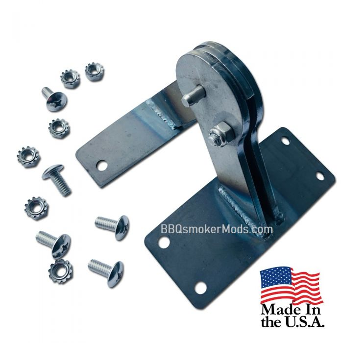 STEEL Lid Hinge for Weber Kettle - BARE STEEL - (Paint to Match)