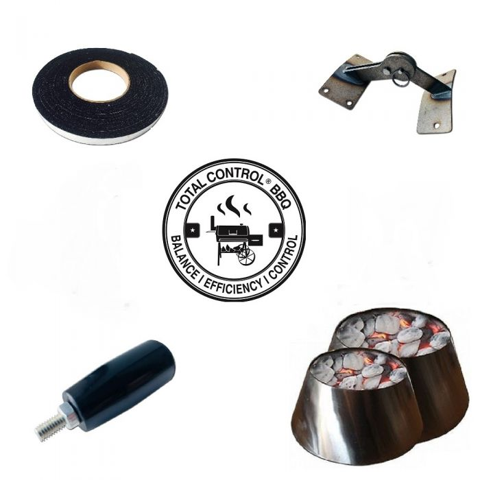 Total ControlⓇ Modification Kit for Weber Smokey Mountain (wsm) or Kettle
