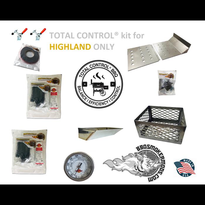 Total Control® Complete Mod Kit for Oklahoma Joe HIGHLAND