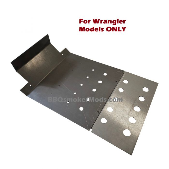 LavaLock® Baffle Plate for Old Country Wrangler, pre-notched Tuning plate for Old Country Smokers