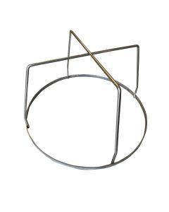 Rib Hanger for Medium Big Green Egg with 6 hooks - Stainless Steel