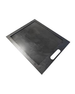 Flat Griddle Plate for GMG Daniel Boone - 1 piece for Half of the Cook Chamber